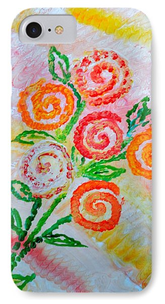 Floralen Traum IPhone Case by Sonali Gangane