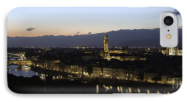 Florence At Night IPhone Case by Alex Dudley