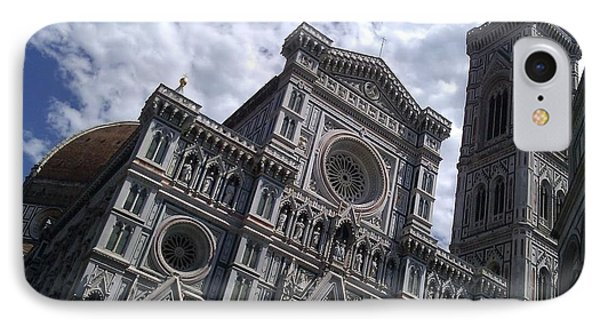 Florence Cathedral  IPhone Case by Ted Williams
