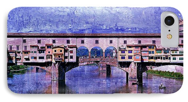 Florence Italy IPhone Case by Kathy Churchman