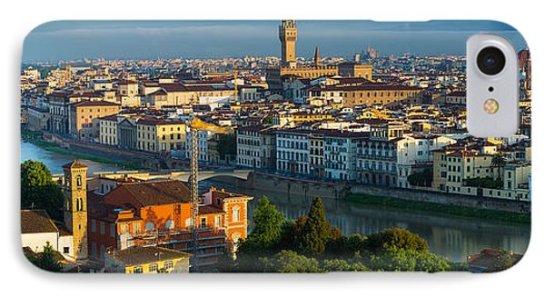 Florence Panorama Phone Case by Inge Johnsson