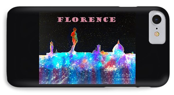 Florence Poster IPhone Case by Bill Holkham