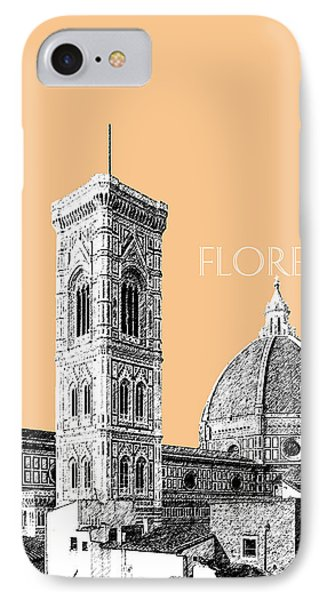 Florence Skyline Cathedral Of Santa Maria Del Fiore 2 - Wheat Phone Case by DB Artist