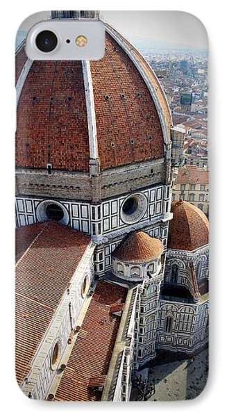 Florence Tile Roof Church IPhone Case
