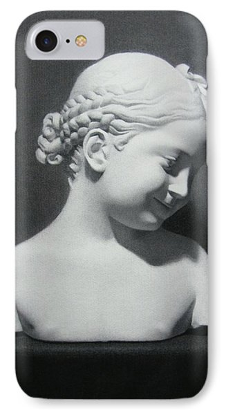 IPhone Case featuring the painting Florentine Girl  by Margit Sampogna