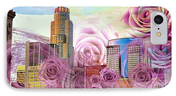 Las Flores De Los Angeles  IPhone Case
