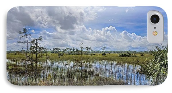 Florida Everglades 0173 Phone Case by Rudy Umans