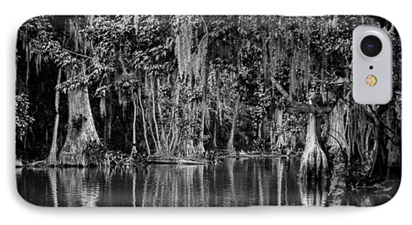 Florida Naturally 2 - Bw Phone Case by Christopher Holmes