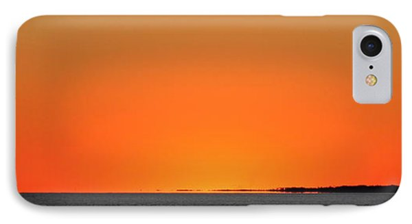 Florida Orange IPhone Case by Faith Williams