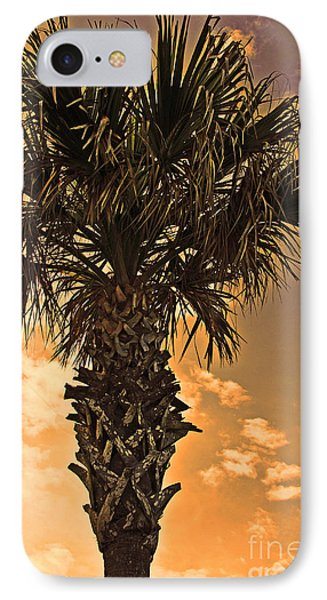 Florida Palm IPhone Case by Melissa Sherbon