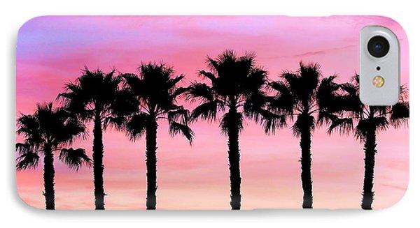 Florida Palm Trees IPhone Case