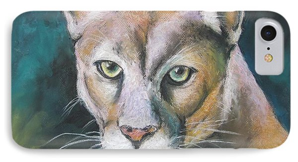 IPhone Case featuring the painting Florida Panther by Melinda Saminski
