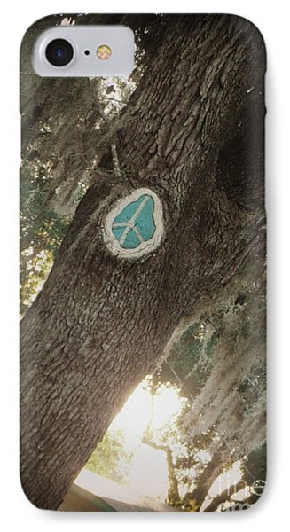 Florida Peace IPhone Case by Valerie Reeves