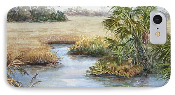 IPhone Case featuring the painting Florida Wilderness IIi by Roxanne Tobaison