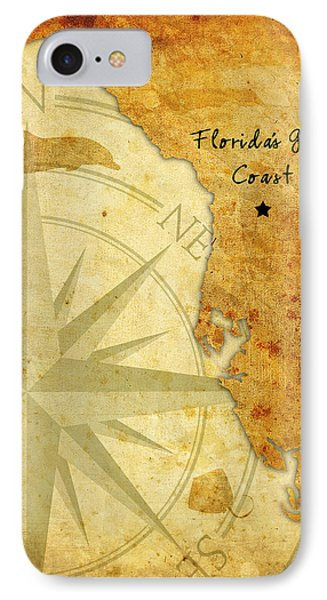Florida's Gulf Coast IPhone Case by Beverly Stapleton