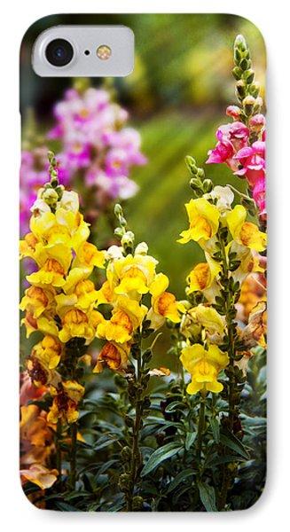 Flower - Antirrhinum - Grace Phone Case by Mike Savad