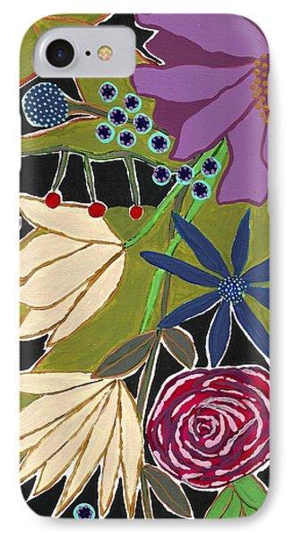 Flower Bouquet IPhone Case by Lisa Noneman