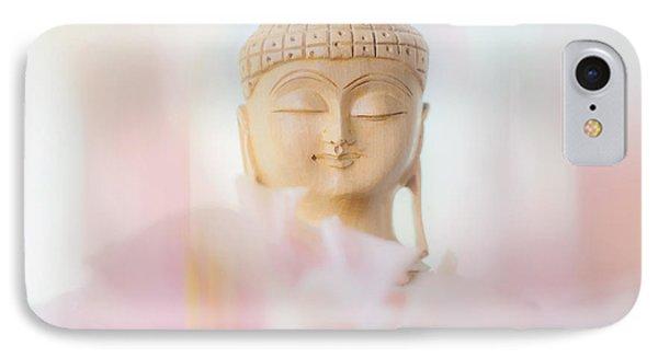 Flower Buddha 2 IPhone Case by Jenny Rainbow