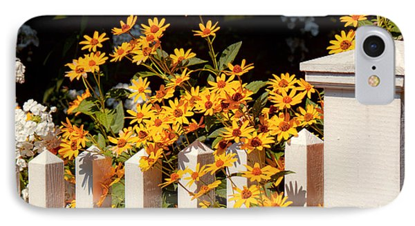 Flower - Coreopsis - The Warmth Of Summer Phone Case by Mike Savad