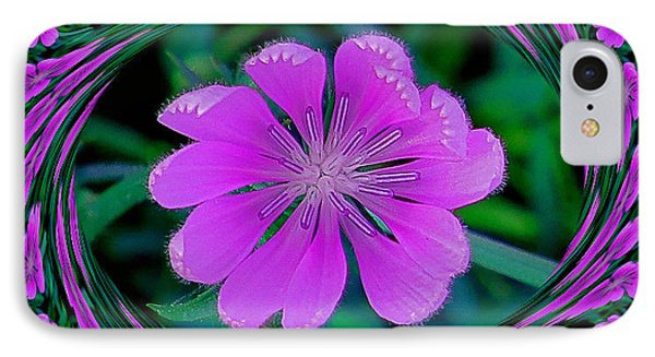 Flower Dream IPhone Case by Rita Mueller