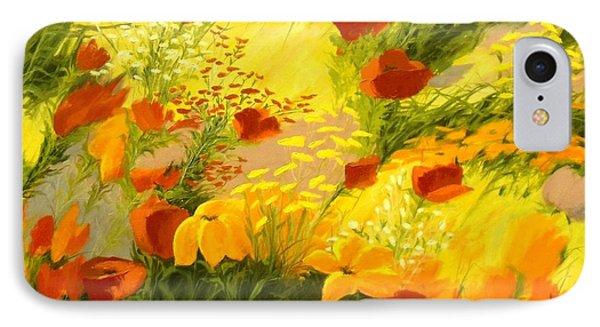 Flower Fantasy IPhone Case by Madeleine Holzberg