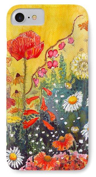Flower Garden IPhone Case by Katherine Miller