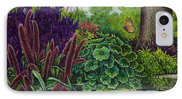 Flower Garden V IPhone Case by Michael Frank