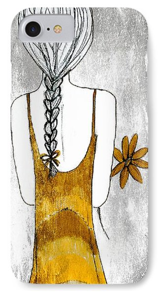 Flower Girl 2 Phone Case by Anne Costello
