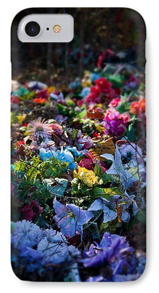Flower Graveyard IPhone Case