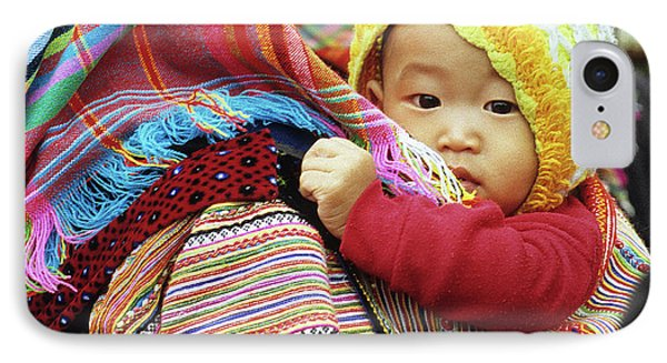 Flower Hmong Baby 04 IPhone Case