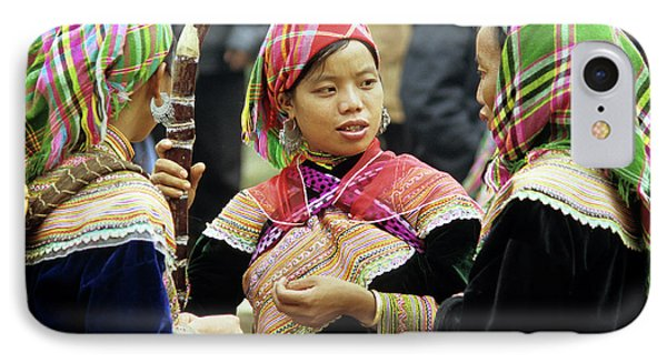 Flower Hmong Women Phone Case by Rick Piper Photography
