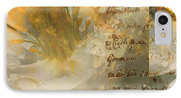 Flower II Phone Case by Yanni Theodorou