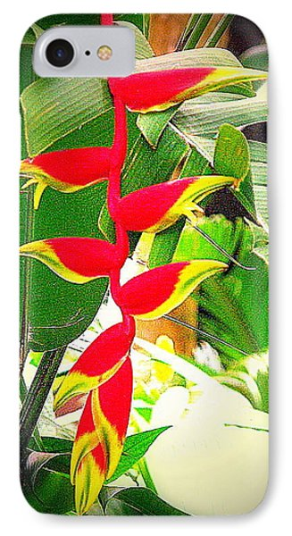 Flower In Monet's Garden Giverny France IPhone Case by John Potts