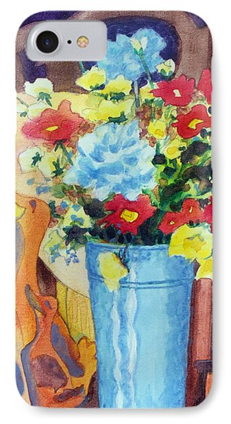 Flower In The Dell Phone Case by Kathy Braud