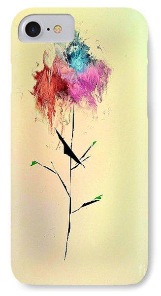 Flower IPhone Case by John Krakora