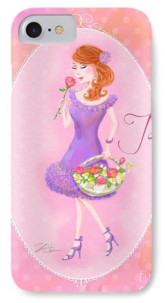 Flower Ladies-jolie Phone Case by Shari Warren