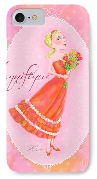 Flower Ladies-magnifique Phone Case by Shari Warren