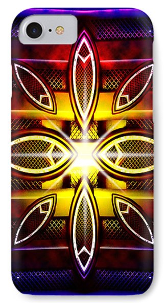 Flower Machine IPhone Case by Nathan Wright