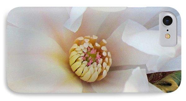 Flower Magnolia White Phone Case by Joyce Woodhouse