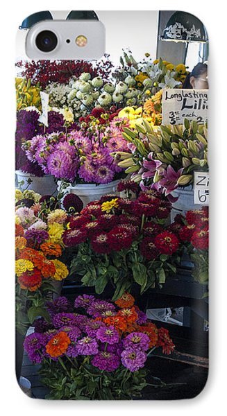 Flower Market IPhone Case by Wayne Meyer