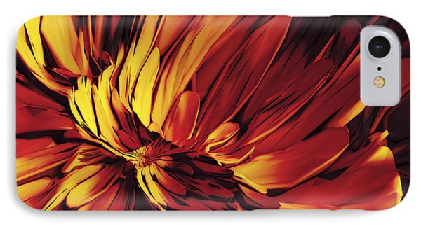 Flower IPhone Case by Matt Lindley