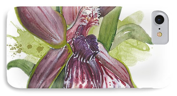 Flower Orchid 10 Elena Yakubovich Phone Case by Elena Yakubovich