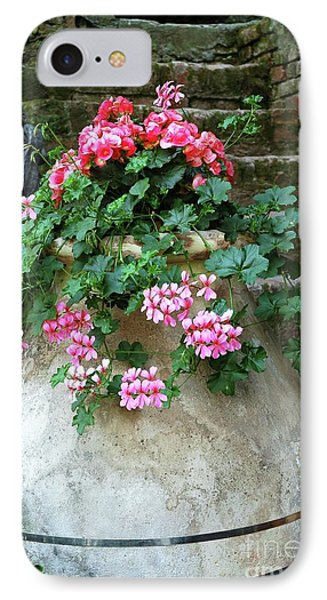 IPhone Case featuring the photograph Flower Pot 8 by Allen Beatty