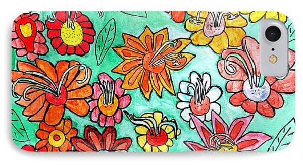 Flower Power IPhone Case by Artists With Autism Inc