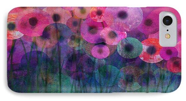 Flower Power Six Phone Case by Ann Powell