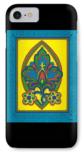 Flower Power Talavera Style IPhone Case