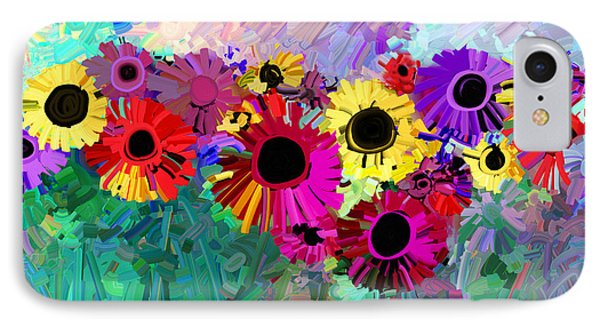 Flower Power Two IPhone Case