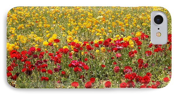 IPhone 7 Case featuring the photograph Flower Rainbow by Nathan Rupert