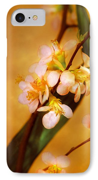Flower - Sakura - A Touch Of Spring Phone Case by Mike Savad