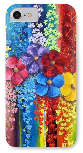 Flower Shower IPhone Case by Katia Aho